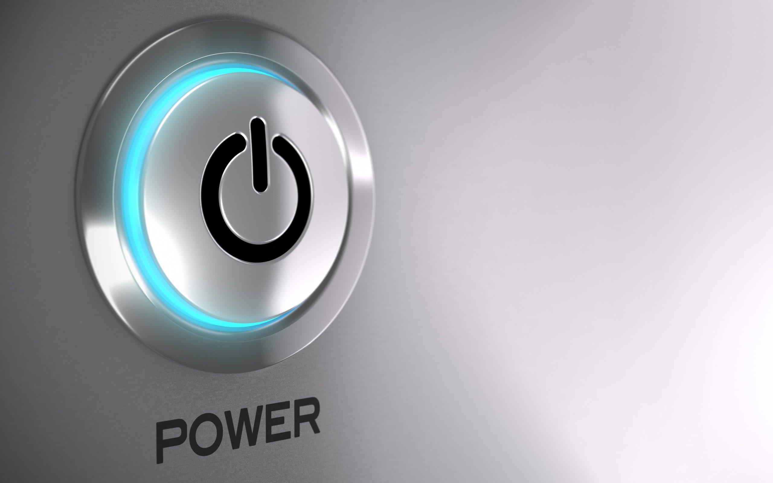 Powerbutton Radio